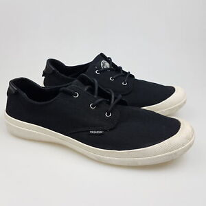 Women's PALLADIUM 'Voyage' Sz 9 US Shoes Black White ExCon | 3+ Extra 10% Off