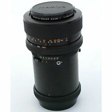 Mamiya RZ67 100-200mm f5.2 Zoom Lens, near mint condition