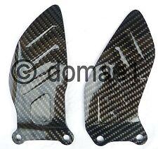 Suzuki GSX-R 600 750 carbon heel guards 2006-2010 plates protectors K6 - L0