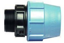 """RACCORDO MASCHIO  DN 25 X 3/4"""" per tubo polietilene (CONFEZIONE DA PZ. 2)"""