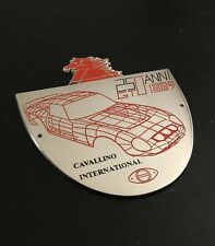 LITHOGRAPHIE FERRARI 250 GTO A VOIR SIGNEE JEAN-CHARLES HIRLIMANN N° HC 3 //25