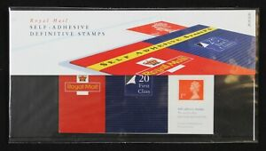 GB Royal Mail 1993 Self Adhesive Definitive Stamps presentation pack 29