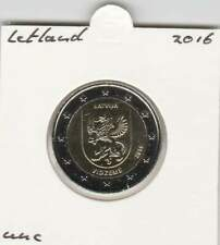 Letland 2 euro 2016 UNC : Vidzeme