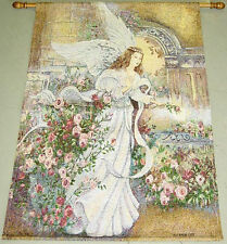 Angel of Love Tapestry Wall Hanging w/o Rod ~ Artist, Lena Liu