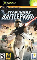 Star Wars: Battlefront (Microsoft Xbox, 2004) Complete With Manual