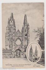 """CPA """" SOISSONS - Les Tours de St Jean des Vignes"""