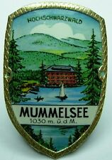 Mummelsee stocknagel medallion badge G5137