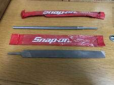 8-Inch SnapOn Bahco 1-230-08-2-2 Round Cut 2-File with Handle