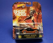 Hot Wheels 2018 Ghost Rider Charger Real Riders Brand New 1:64 Scale
