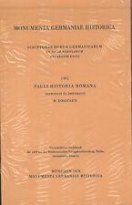 Monumenta Germaniae Historica - H. Droysen - Pauli Historia Romana