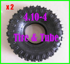 "2pcs 3.50/4.10-4"" inch Tire Tyre & Tube for Mini Pocket ATV QUAD Bike 47cc 49cc"