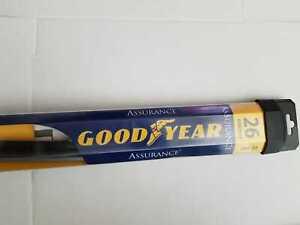 "Goodyear 765-26 Assurance Black Premium Rubber Graphite Coated Wiper Blade 26"""