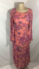 FREE PEOPLE Women's Size 4 Melrose Bell Floral Criss-Cross Back Maxi Dress