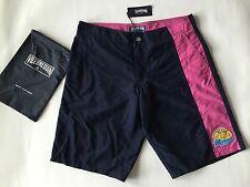 New w Tags & Bag Authentic Vilebrequin Melta Navy Blue Swim Trunks Men Size L