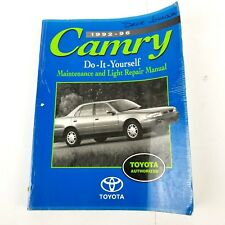 TOYOTA CAMRY 1992-96 Camry Do It Yourself Maintenance and Light Repair Manual