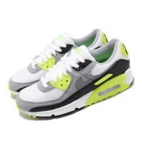 Nike Wmns Air Max 90 OG 2020 Volt White Grey Black Women Casual Shoes CD0490-101