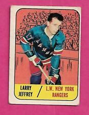 1967-68 TOPPS # 21 RANGERS LARRY JEFFREY  GOOD CARD (INV# C4776)