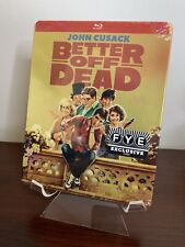 Better Off Dead Steelbook (Blu-ray, 1980) Factory Sealed