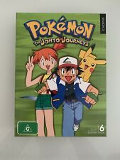 Pokemon - Johto Journeys : Season 3 (DVD, 2010, 6-Disc Set)