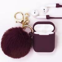 Apple AirPods Case, Cute Case Drop Proof Silicone Skin and Cover