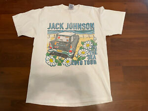 "Jack Johnson ""To The Sea 2010 Tour"" American Tour T-Shirt Size M"
