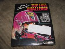 NEW FACTORY SEALED RARE Shirley Muldowney's Top Fuel Challenge Commodore 64 C64