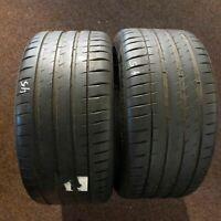 2x Michelin Pilot Sport 4S MO1 295/35 R20 105Y DOT 0518 7 mm Sommerreifen