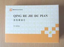 4pks Qing re Jie du Pian Wan hierbas resfriados gripe dolor de garganta amigdalitis úlceras bucales