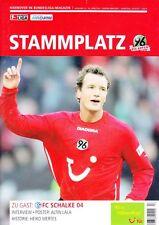 Stammplatz + 10.03.2007 + Hannover 96 vs. FC Schalke 04  + Programm + Die Roten