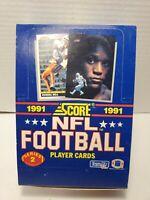 1991 Score NFL Football Series 2 Wax Box - 36 Packs New Sealed Barry Sanders