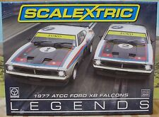 SCALEXTRIC 1/32 C3587A 1977 ATCC FORD XB FALCONS TWO CAR PACK, MOFFAT, BOND, NIB