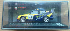 "DIE CAST "" SEAT CORDOBA WRC EVO 4 CATALUNYA COSTA BRAVA 2001 "" SEAT SPORT 1/43"