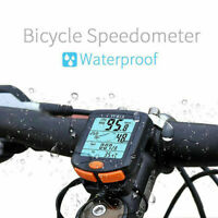 Wireless MTB Bicycle Cycling Cycle Computer Speedometer Odometer Backlight SALE