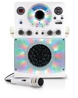Singing Machine SML385BTW Top Loading CDG Karaoke System with Bluetooth, Sound