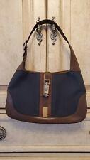 Vintage Gucci Hobo Jackie O Monogram Handbag