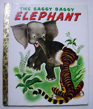 THE SAGGY BAGGY ELEPHANT - 1974 -  Little Golden Book
