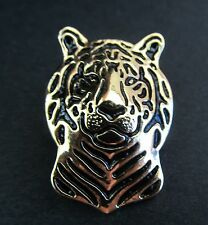 Tiger Brooch or Pin -  Fashion Jewellery - Gold Plated, Stud Back
