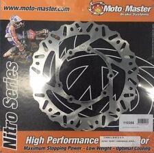 Moto-Master unfloating Rear Motorcycle Brake Rotors