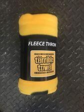 PITTSBURGH STEELERS 50X60 FLEECE THROW TERRIBLE TOWEL BLANKET RARE!! MYRON COPE