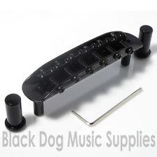 Jaguar guitar bridge (Mustang Jazzmaster) in black