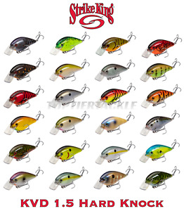 Strike King KVD 1.5 Hard Knock Square Bill Crankbait Lure - Select Color(s)