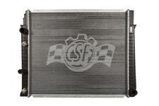 Radiator-1 Row Plastic Tank Aluminum Core CSF 2824