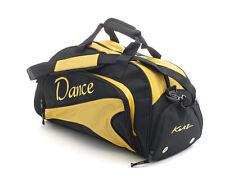 Medium Sparkly Yellow Dance Ballet Tap Kit Holdall Sports Bag KB91 By Katz