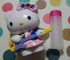 "SANRIO HELLO KITTY 2007 CAREER GUITAR ROCK STAR 3"" CANDY TUBE ROCK CANDY HTF"