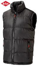Lee Cooper Vest Bodywarmer Fleece Reversible Warm Lined Mens Outdoor Jacket