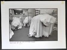 3 Photos Wilfred Esteve - Chrétiens Célestes - Epreuves argentiques  30 x 40 -
