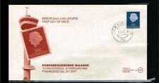 [A96_007] 1969 - Netherlands FDC W11 - Juliana 25c - issued Philato - cancel 76