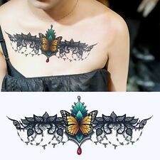 Körper Tattoos Aufkleber Hauttattoo Einmal Tattoo Temporary Schmetterling Decal