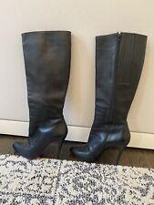 christian louboutin 40 black Boots