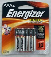 Energizer AAA Batteries 1 pack with 4 batteries Free Shipping